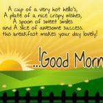 Good Morning Breakfast Quotes Tumblr