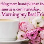 Good Morning Dear Friend Quotes