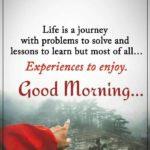 Good Morning Happy Life Quotes Tumblr