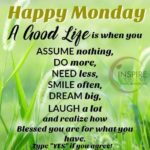 Good Morning Happy Monday Quotes Facebook