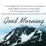 Good Morning Meaningful Images Pinterest