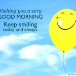 Good Morning Smile Wishes