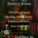 Good Night Family And Friends Quotes Twitter