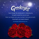 Good Night Romantic Message For Girlfriend Facebook