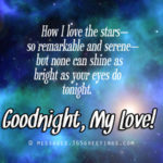 Good Night Text Message To My Love