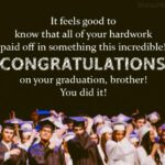 Graduation Message To My Brother Facebook