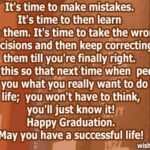 Graduation Wishes For Girl