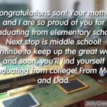 Graduation Wishes For Son Pinterest