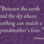Grandmother And Granddaughter Bond Quotes Pinterest
