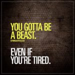 Gym Beast Quotes Pinterest