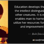 Haile Selassie Quotes On Education Facebook