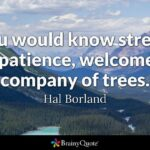 Hal Borland Quotes Tumblr