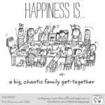 Happiness Is Family Get Together