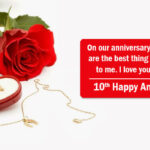 Happy 10th Anniversary To My Husband Pinterest