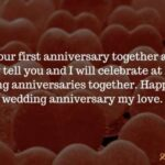 Happy 1st Anniversary Husband