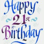 Happy 21st Birthday Messages Pinterest