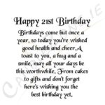 Happy 21st Birthday Messages Twitter