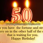 Happy 50th Birthday Quotes Pinterest
