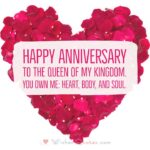 Happy Anniversary Message To Wife Pinterest