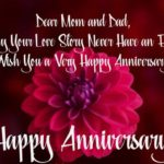 Happy Anniversary Mom And Dad From Daughter Facebook