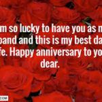 Happy Anniversary My Hubby