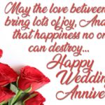 Happy Anniversary Wish For Friend Facebook