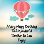 Happy Birthday Bro In Law Pinterest