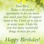 Happy Birthday Dad From Daughter Facebook