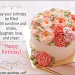 Happy Birthday Images With Flowers And Quotes Facebook