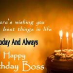 Happy Birthday Message To Boss