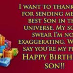 Happy Birthday Message To My Son Tumblr
