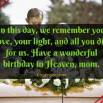 Happy Birthday Mom In Heaven Poem Facebook