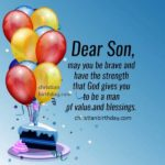 Happy Birthday My Dear Son Images Pinterest