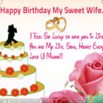 Happy Birthday My Sweet Wife Twitter
