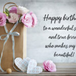 Happy Birthday To My Beautiful Sister Quotes Facebook