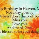 Happy Birthday To Someone In Heaven Twitter