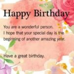 Happy Birthday To You Quotes