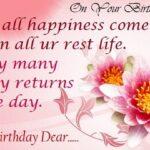 Happy Birthday Wishes Sms Pinterest