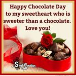 Happy Chocolate Day My Love Facebook