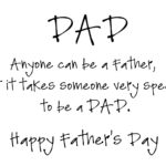 Happy Father's Day Quote Tumblr