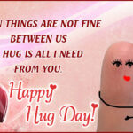 Happy Hug Day Msg Tumblr