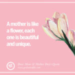 Happy Mothers Day Beautiful Quotes Pinterest