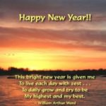 Happy New Year Inspirational Wishes Facebook