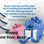 Happy New Year Quotes For Boss Facebook