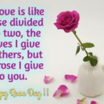 Happy Rose Day I Love You