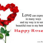 Happy Rose Day To Wife