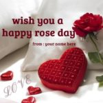 Happy Rose Day Wishes With Name