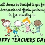 Happy Teachers Day 2018 Message Pinterest