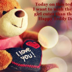 Happy Teddy Day Quotes For Girlfriend Pinterest