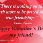 Happy Valentines Day To My Best Friend Quotes